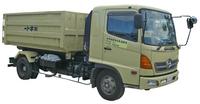 フックロール車 (脱着装置付コンテナ専用車)